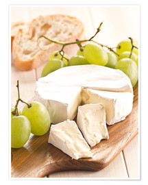 Premium poster  French soft cheese - Edith Albuschat