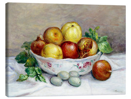 Canvas print  Still Life with a Pomegranate - Pierre-Auguste Renoir