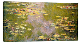 Canvas print  The lily pond - Claude Monet