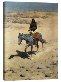 Canvas print  Apache Indian - Frederic Remington