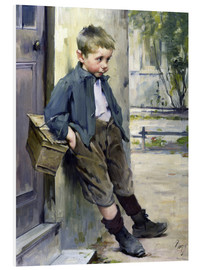 Foam board print  Out of the Game - Henri Jules Jean Geoffroy