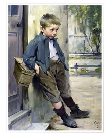Premium poster  Out of the Game - Henri Jules Jean Geoffroy