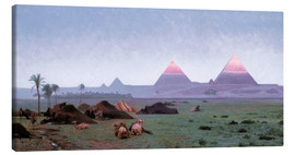 Canvas print  The First Kiss of the Sun - Jean Leon Gerome