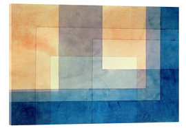 Acrylic print  House on the Water - Paul Klee