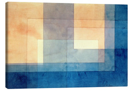 Canvas print  House on the Water - Paul Klee