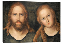 Canvas print  Christ and Mary Magdalene - Lucas Cranach d.Ä.