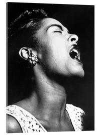 Acrylic print  Billie Holiday