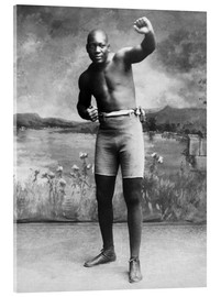 Acrylic print  Jack Johnson