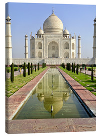 Canvas print  The Taj Mahal - Steve Roxbury