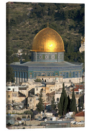 Canvas print  Jerusalem and the Dome of the Rock - David Noyes