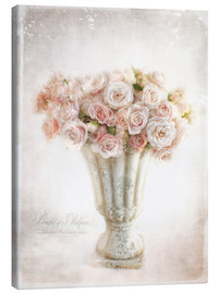 Canvas print  Romantic roses - Lizzy Pe