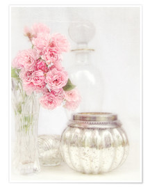 Premium poster  Still life with roses - Lizzy Pe