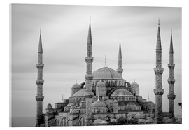Acrylic print  the blue mosque in Istanbul / Turkey - gn fotografie