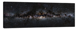 Canvas print  Milky way panorama - Jan Hattenbach