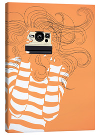 Canvas print  Retro camera - JASMIN!