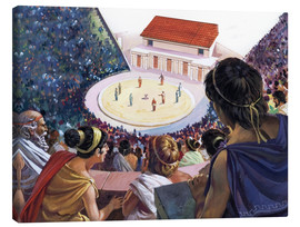 Canvas print  Greek theater - Andrew Howat