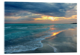 Acrylic print  Sunset at the sea - Filtergrafia