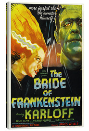 Canvas print  The Bride of Frankenstein