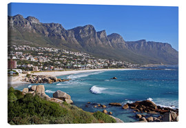 Canvas print  Camps Bay, Cape Town, South Africa - wiw