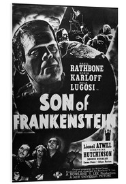Foam board print  Son Of Frankenstein