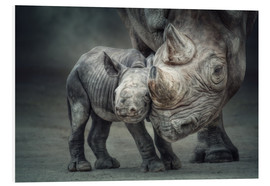 Foam board print  Mother child bond - Manuela Kulpa
