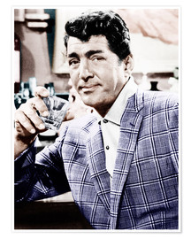 Premium poster  Dean Martin in a plaid jacket