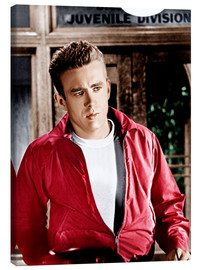 Canvas print  REBEL WITHOUT A CAUSE, James Dean, 1955
