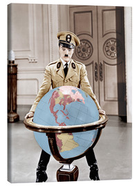 Canvas print  The Great Dictator - Charlie Chaplin