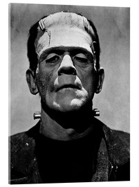 Acrylic print  Boris Karloff as Frankenstein
