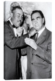 Canvas print  Max Schmeling and Joe Louis