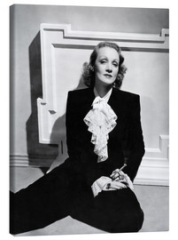 Canvas print  Marlene Dietrich, ca. early 1940s