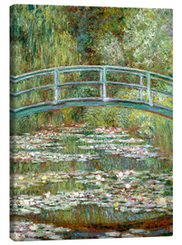 Canvas print  The Japanese bridge - Claude Monet