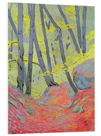 Foam board print  Undergrowth - Paul Sérusier