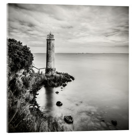 Acrylic print  [the forgotten lighthouse] - Mario Benz