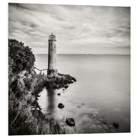 Foam board print  [the forgotten lighthouse] - Mario Benz