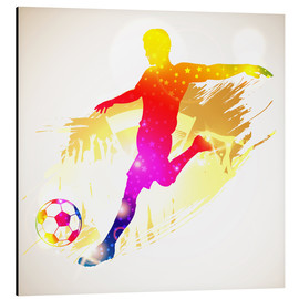 Aluminium print  Football Player - TAlex