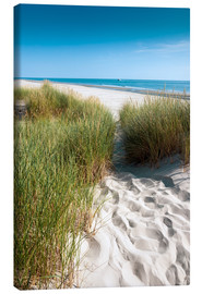 Canvas print  Dunes on the beach - Reiner Würz