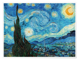 Premium poster Starry night