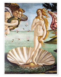 Premium poster The Birth of Venus (detail)