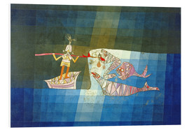 Foam board print  Sinbad the Sailor - Paul Klee