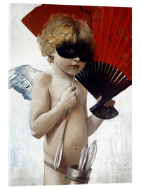 Acrylic print  Cupid at the masked ball - Franz von Stuck