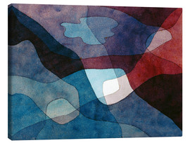 Canvas print  Mountain and Air Synthetic - Paul Klee