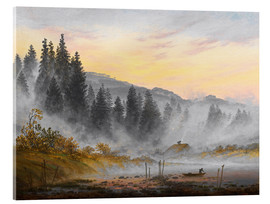 Acrylic print  The morning - Caspar David Friedrich