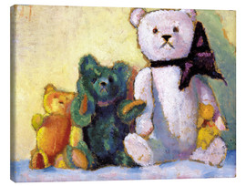 Canvas print  The bear family - Alexej von Jawlensky