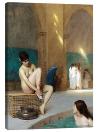 Canvas print  Women at the Roman baths - Jean Leon Gerome