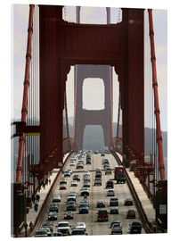 Acrylic print  Golden Gate Bridge - Marcel Schauer