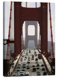 Canvas print  Golden Gate Bridge - Marcel Schauer
