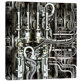 Canvas print  Timemachine - diuno