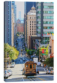 Canvas print  San Francisco Downtown - Marcel Schauer