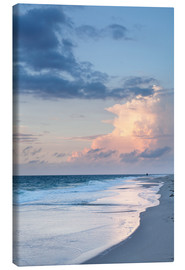 Canvas print  Sylt, sunset at the beach - Markus Lange